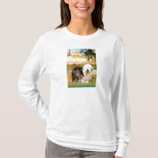 庭(VGogh) -古い英語12 Tシャツ