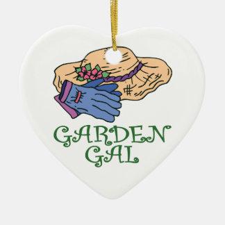 庭Galの庭師 セラミックオーナメント