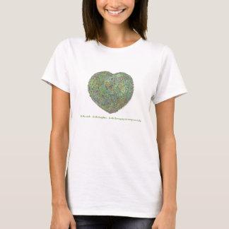 庭heart0001は、スマイル…ですlaught…です tシャツ