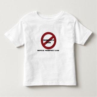 廃止のマーフィーの法律の幼児のティー トドラーTシャツ