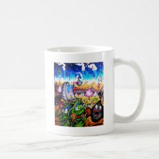 廃物のエイリアン コーヒーマグカップ