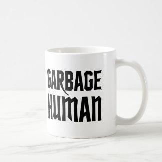 廃物の人間 コーヒーマグカップ