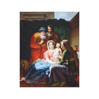 延長神聖な家族 キャンバスプリント
