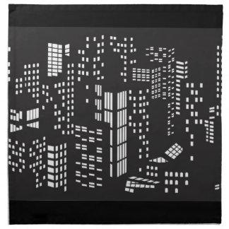 建物、建物、構造、建築、都市 ナプキンクロス