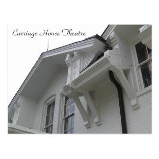 建築のスタイルのキャリッジ家の劇場の眺め ポストカード