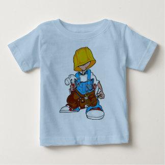 建築の子供 ベビーTシャツ