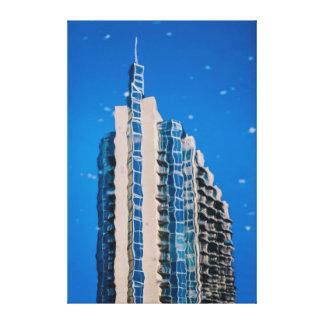 建築の抽象的概念 キャンバスプリント