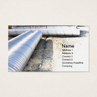 建築の配管 名刺
