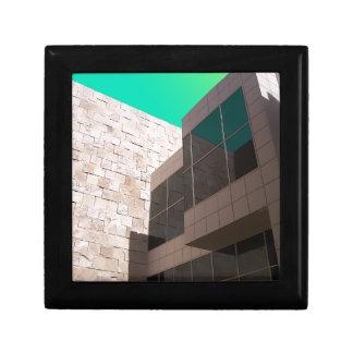 建築グラフィックおよびライト ギフトボックス