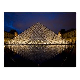 建築家によるI.M. Peiルーバーピラミッドの ポストカード