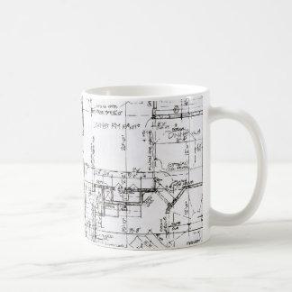 建築家のコーヒー・マグ コーヒーマグカップ