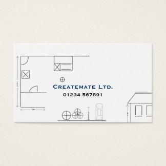 建築家のスケッチの名刺 名刺