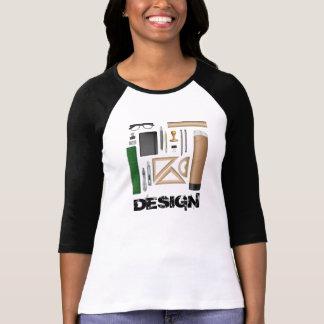 建築家のテーブルのTシャツ。 Tシャツ