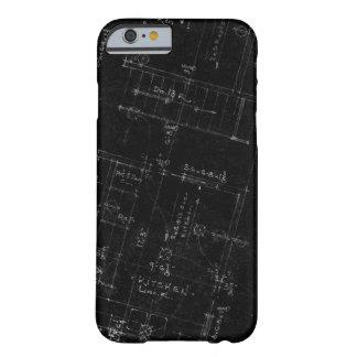 建築家の平面図のiPhone6ケース Barely There iPhone 6 ケース