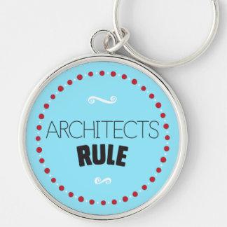 建築家の規則Keychain -青 キーホルダー
