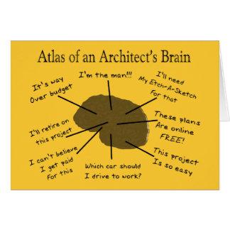 建築家の頭脳の地図書 カード