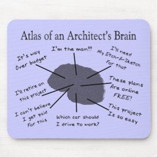 建築家の頭脳の地図書 マウスパッド