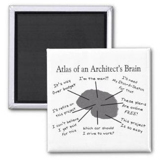 建築家の頭脳の地図書 マグネット