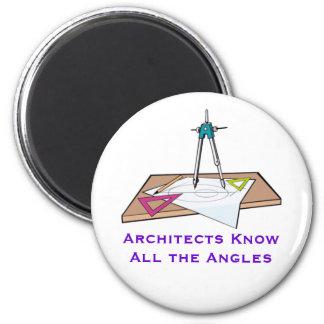 建築家はすべての角度の磁石を知っています マグネット