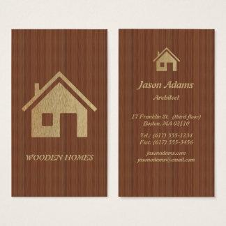 建築家|の木の家 名刺