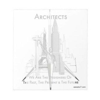 建築家 ノートパッド