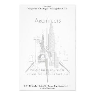 建築家 便箋