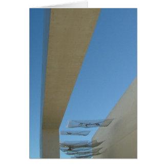建築彫刻の90の程度の写真 カード