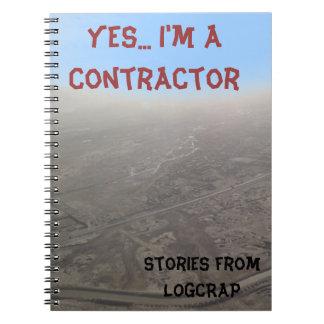 建築業者のノート ノートブック