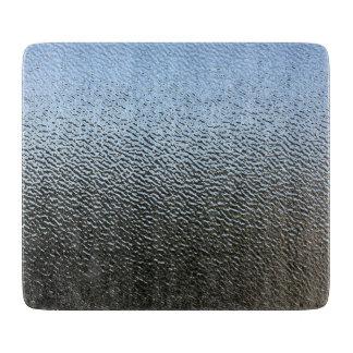 建築織り目加工ガラスの一見 カッティングボード