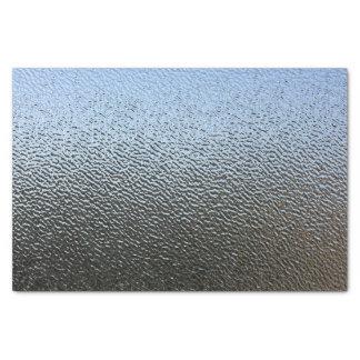 建築織り目加工ガラスの一見 薄葉紙