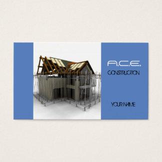 建築者か建設業カード 名刺