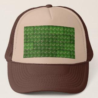 建築者の煉瓦-緑 キャップ