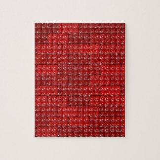 建築者の煉瓦-赤 ジグソーパズル