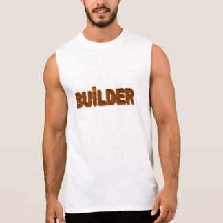 建築者 袖なしシャツ