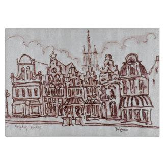 建築Vrijdagmarkt |ゲント、ベルギー カッティングボード