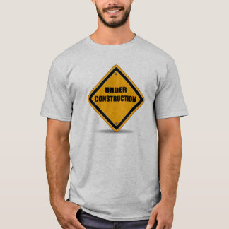 建設中のTシャツ Tシャツ
