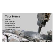 建設業カード 名刺テンプレート