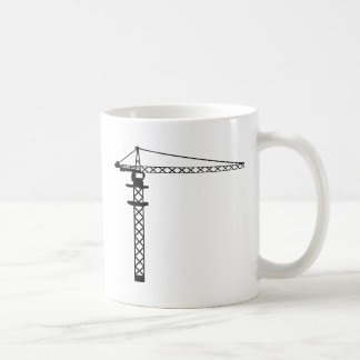 建設用クレーン コーヒーマグカップ