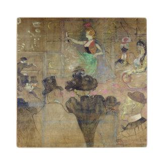 弁柄で踊ること: La Goulue 1895年 ウッドコースター