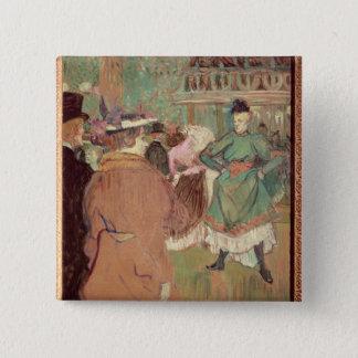 弁柄のQuadrille、1892年 5.1cm 正方形バッジ
