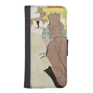 弁柄1892年のイギリス人 iPhoneSE/5/5sウォレットケース