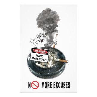 弁解停止喫煙無し 便箋