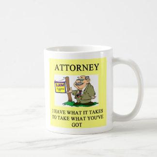 弁護士および弁護士は、弁護士およびlawye…冗談を言います コーヒーマグカップ