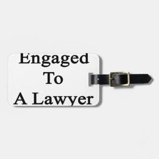 弁護士に婚約した ラゲッジタグ