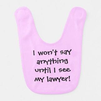 弁護士のよだれかけ ベビービブ