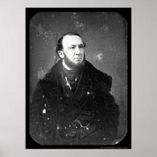 弁護士のセオドアSedgewickの銀板写真1849年 ポスター