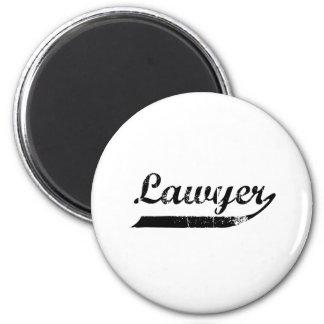 弁護士のタイポグラフィ マグネット