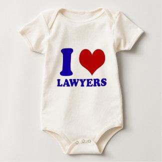 弁護士のデザイン ベビーボディスーツ