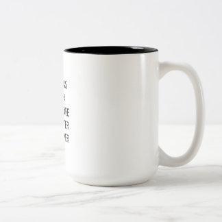 弁護士のマグ: 、ここに…一方 ツートーンマグカップ