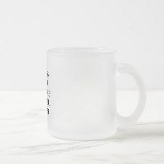 弁護士のマグ: 、ここに…一方 フロストグラスマグカップ